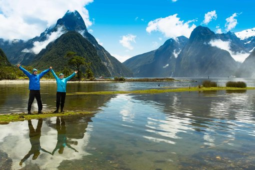 chur new zealand page with two people who are aspirational