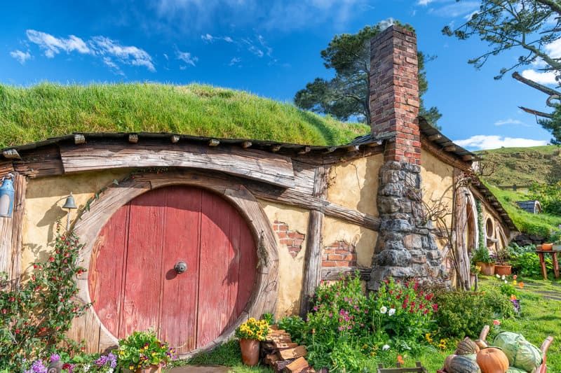 for the headline things to do in new zealand and this hobbit house is one