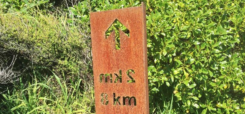paekakariki escarpment track trail marker