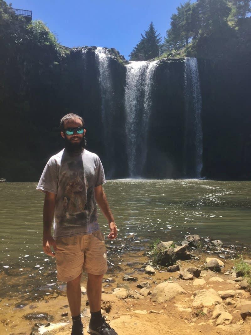 the whangarei falls walk