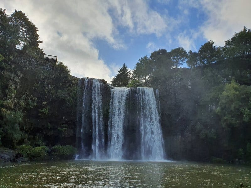 whangarei falls lookout