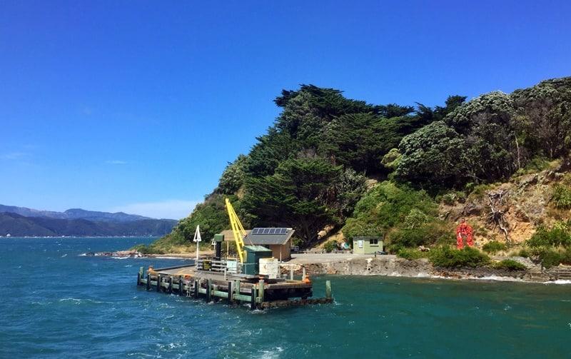 view of somes island wharf