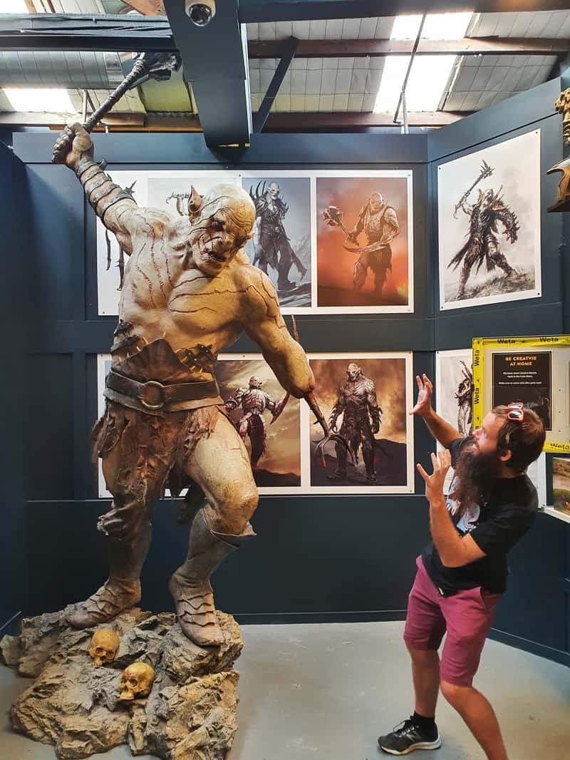 weta workshop tour