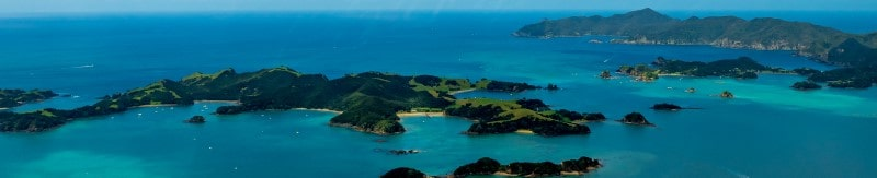 islands in water