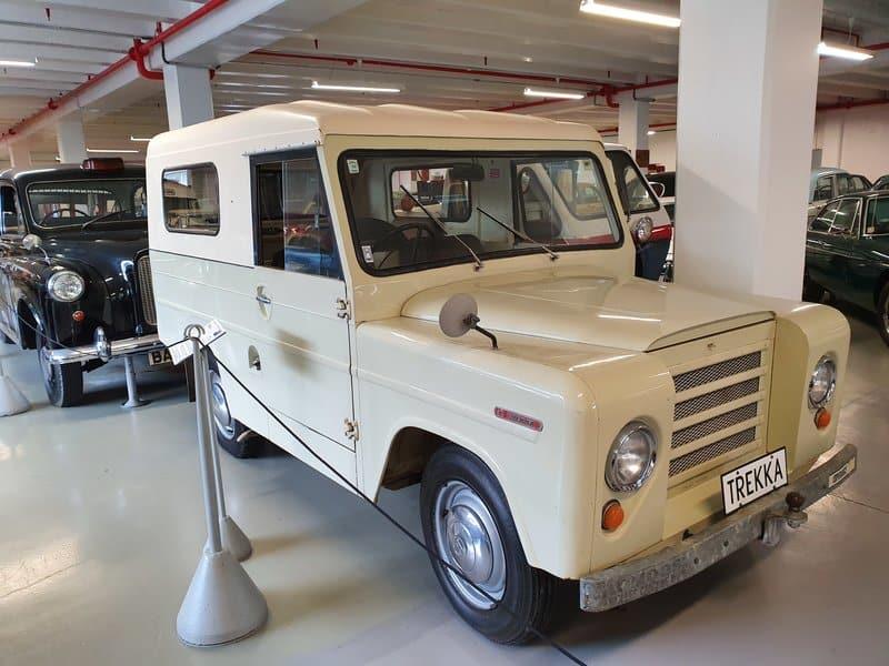 trekka at southwards car museum