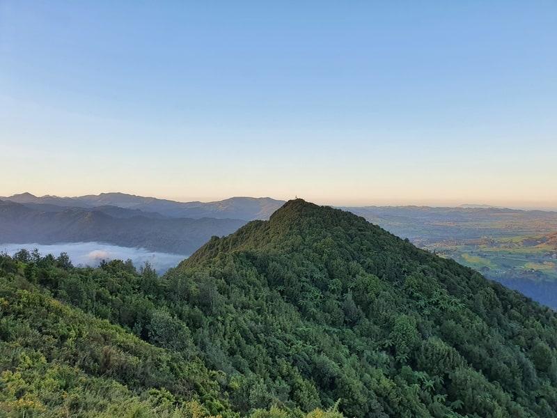 views of the trig for mount karangahake