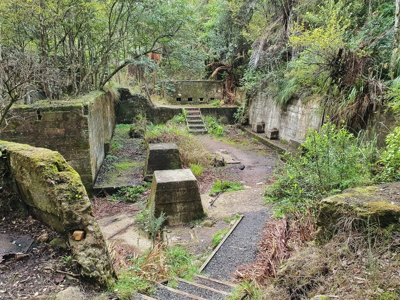 relics from the mining site as seen on the easiest of the karangahake gorge walks