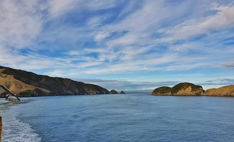 entering the Marlborough Sounds