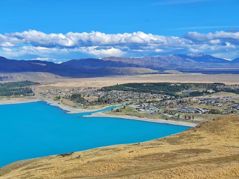view of lake tekapo township