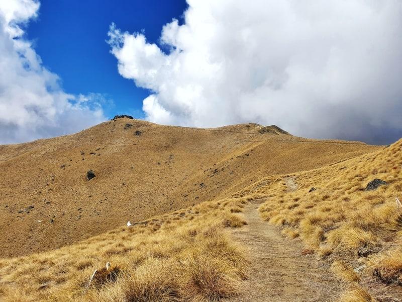 look towards crown peak