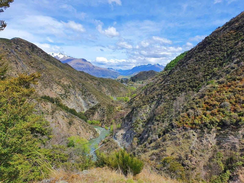 sawpit gully walk in arrowtown