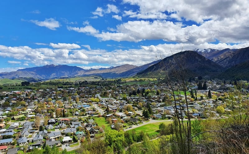 view of arrowtown