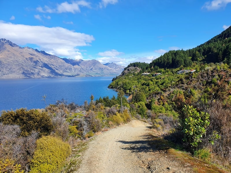seven mile point track queenstown